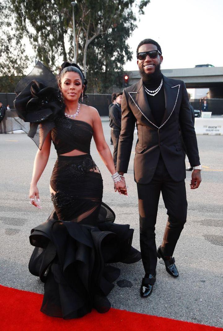 Ο Gucci Mane και η σύζυγός τουKeyshia Ka'Oir με Gucci.