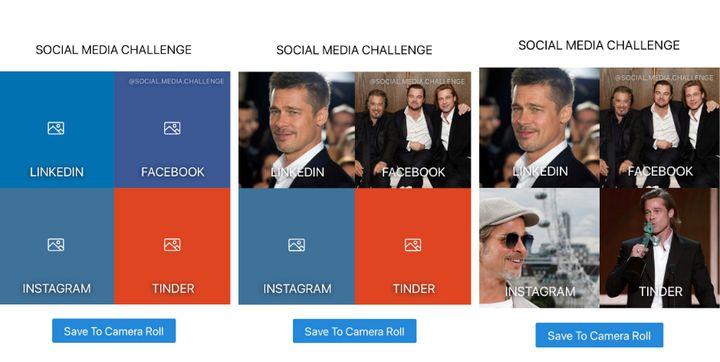 Social Media Challenge, solo para iOS.