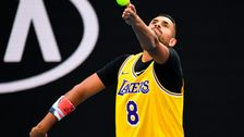 Australian Open Star Φοράει Απόλυτη Kobe Αφιέρωμα