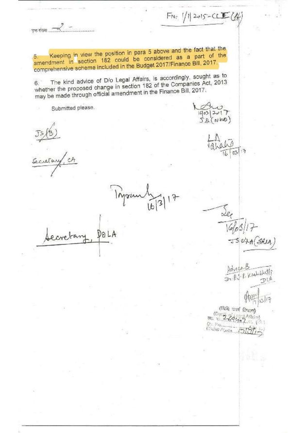 Law Ministry Said Modi Govt's Route To Pass Electoral Bonds Was Illegal But Signed Off