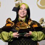 Grammy Awards: Billie Eilish triomphe dans une cérémonie assombrie par le décès de Kobe
