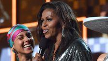 ミッシェル-オバマの勝利のためのオーディオ録音の