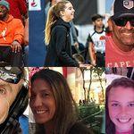 Le nove vittime dell'incidente: oltre alla figlia di Kobe Bryant, altre due