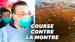 Le premier ministre chinois est à Wuhan, épicentre de l'épidémie de