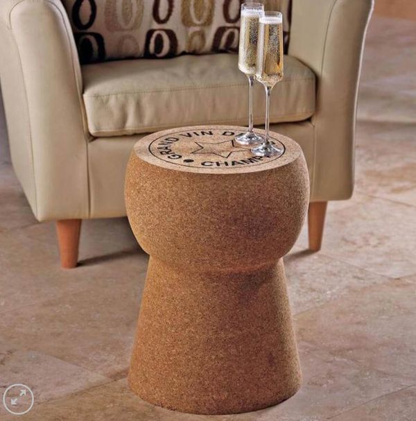 "Your valentine won't ""wine"" about getting a giant <a href=""https://sellwild.com/itemDetail/giant_champagne_cork_table_1042809"