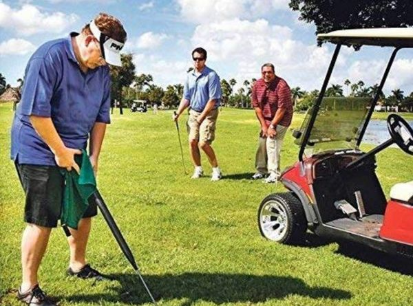 """When you gotta go, you gotta go -- even when you're on the golf course. The <a href=""""https://sellwild.com/itemDetail/golf_clu"""