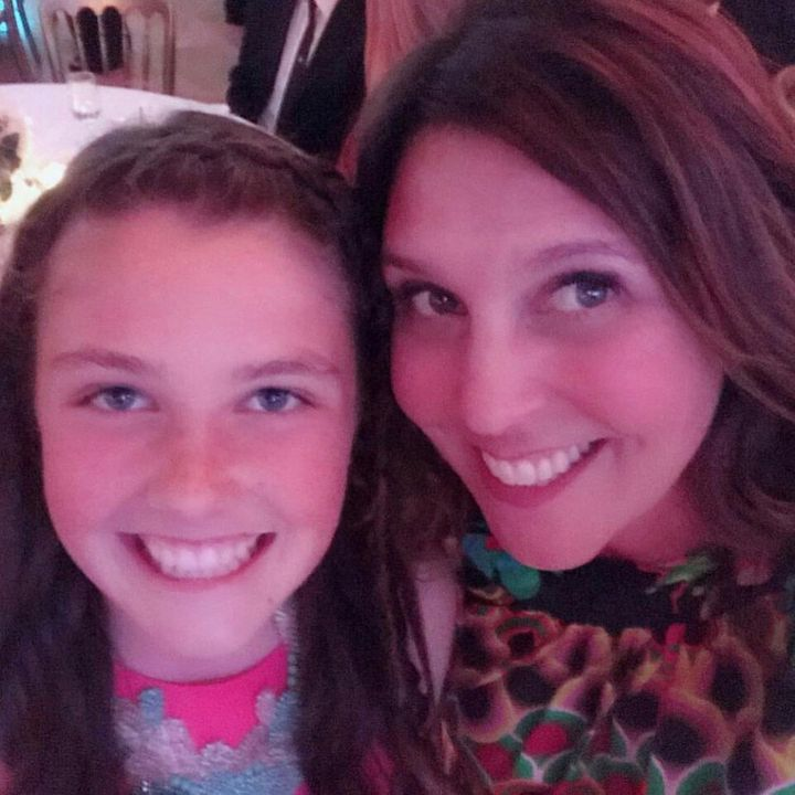 Payton Chester, left, with her mother Sarah.