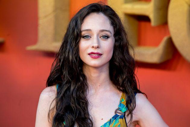 La actriz Elena Rivera, el 16 de julio de 2019 en