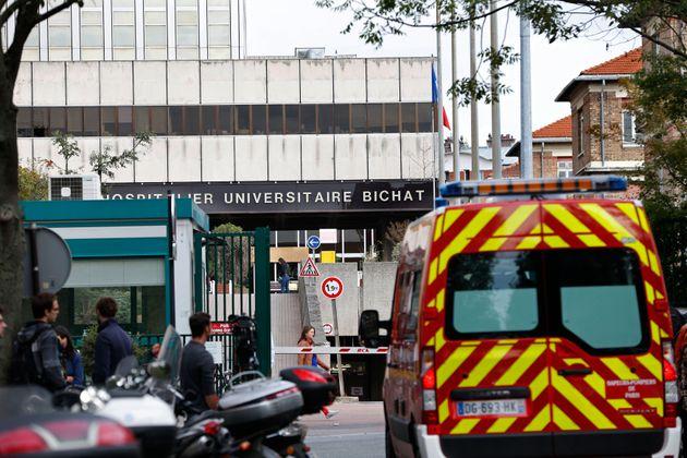 Deux patients atteints par le nouveau coronavirus sont hospitalisés à l'hôpital Bichat...