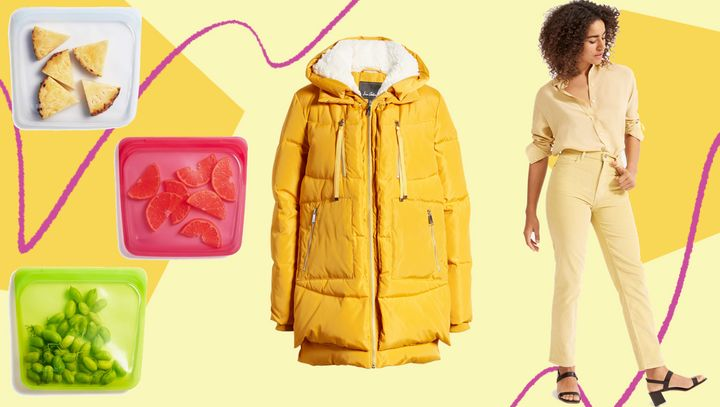 """Stasher bags, an """"Amazon Coat"""" dupe and Everlane's cheeky cords, oh my! These are some of the products that HuffPost readers bought in January."""