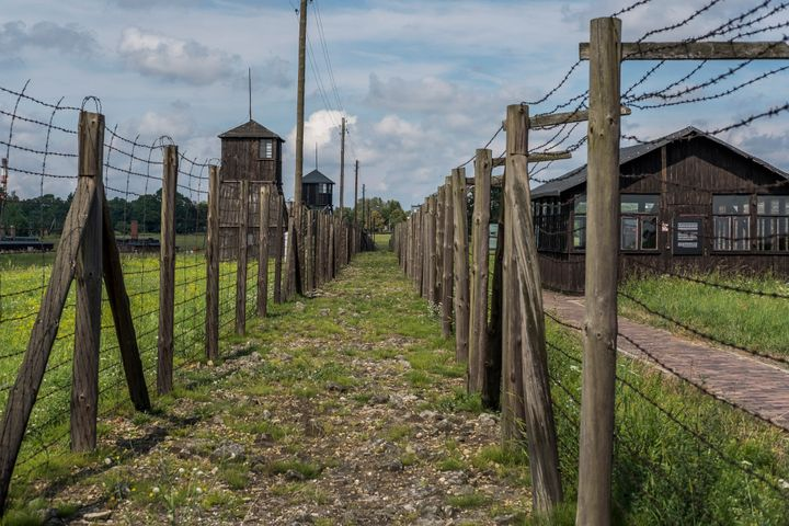 Majdanek concentration and extermination in Lublin, Poland on Aug. 17, 2016. The camp was built in 1941 by orders of the commander of the German SS, Heinrich Himmler.