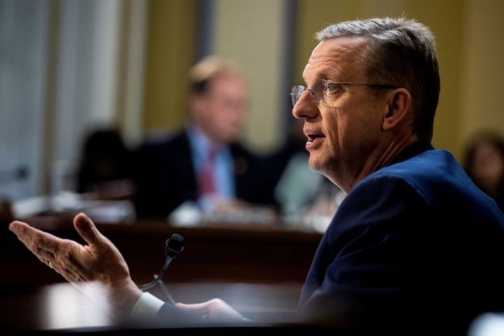 House Judiciary Committee Ranking Member Doug Collins (R-GA) speaks during a House Committee on December 17, 2019.