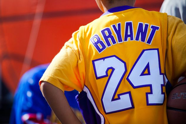Un jeune fan de Kobe Bryant (photo