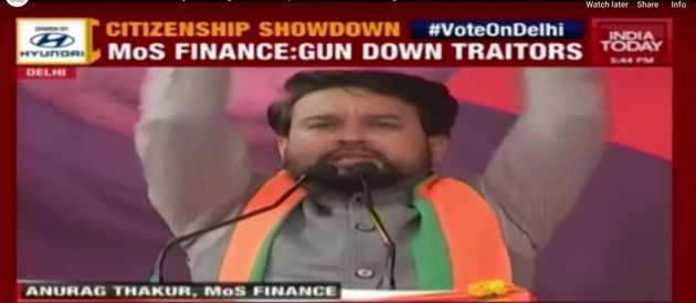 Anurag Thakur On 'Goli Maro' Chants At Poll Rally: 'People Reacted. What Can I Do?