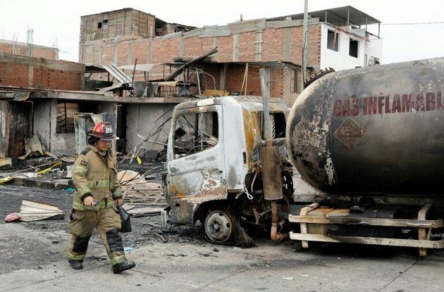 Έκρηξη βυτιοφόρου στο Περού: Τουλάχιστον 15 οι