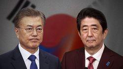 문재인-아베, '북핵·위안부 합의'