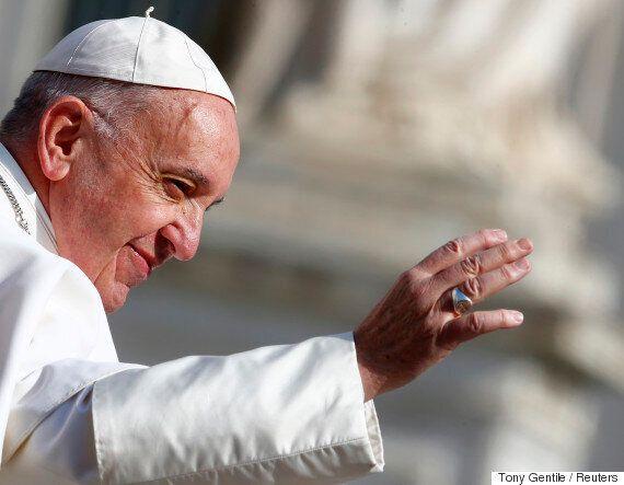 교황이 권력을 빈속에 술 마시는 것과