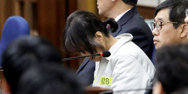 Choi Soon-sil, the woman at the centre of the South Korean political scandal and long-time friend of...