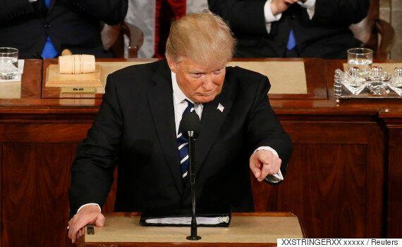 트럼프의 '첫 의회 연설'에서 한층 더 강력한 이민 규제, '오바마 케어' 폐지를