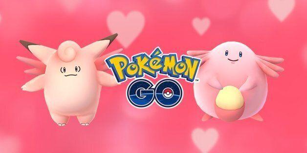 포켓몬고가 발렌타인데이 이벤트를