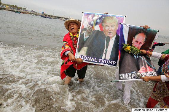 러시아 언론은 트럼프를 어떻게 다루고 있을까? 모스크바의 언론인에게