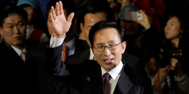PYEONGCHANG-GUN, SOUTH KOREA - JANUARY 29: South Korean President Lee Myung-Bak attends the Opening Ceremony...