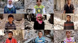 시리아 알레포에 갇힌 아이들이