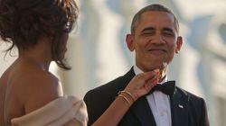 미셸 오바마는 오바마 대통령의 스웩은 항상 넘쳐났다고