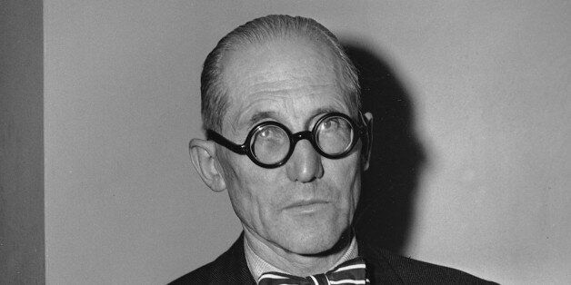 A 1947 photo of Charles Le Corbusier, internationally known French architect, planner and designer. (AP