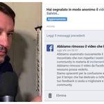 Facebook ha rimosso il video della citofonata di Matteo