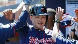 박병호, 만루포로 MLB 시범경기 첫 홈런(사진,