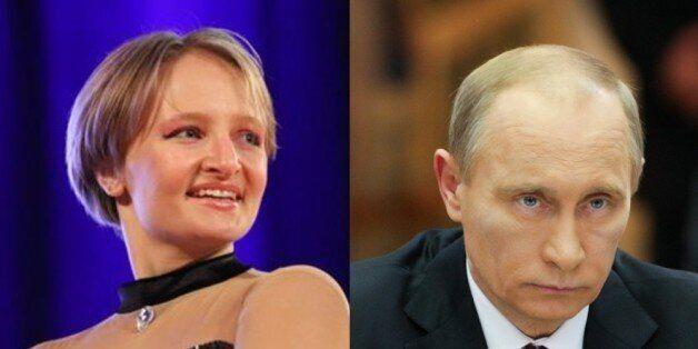 블라디미르 푸틴 러시아 대통령의 둘째 딸로 알려진 예카테리나 티호노프의 모습 & 푸틴