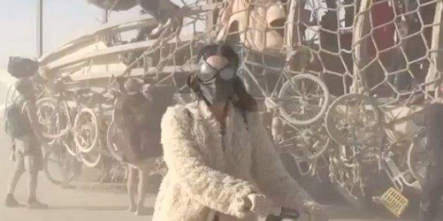 케이티 페리, 사막에서 세그웨이 타기는