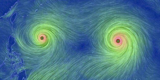 고니와 앗사니, 쌍태풍이 오고