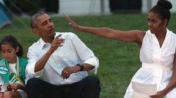 걸 스카우트 50명을 백악관에서 재운 오바마