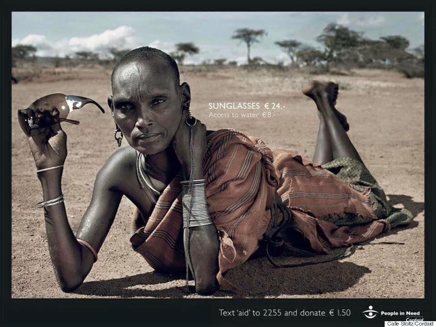 케냐의 파격적인 광고사진이 소비지상주의에 경종을