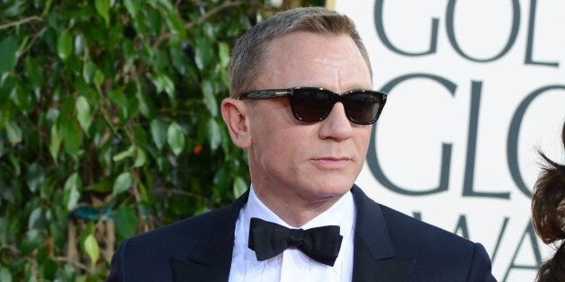 Daniel Craig and Rachel Weisz arrive at the 70th Annual Golden Globe Awards at the Beverly Hilton Hotel...