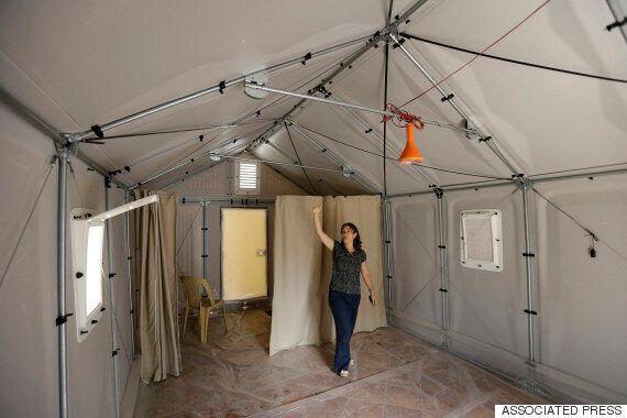 이라크 난민을 위한 이케아 조립식
