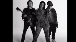 리한나, 폴 매카트니, 카니예 웨스트의 'FourFiveSeconds'
