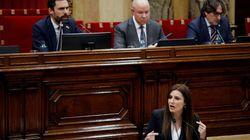 Cs abandona la comisión del 155 tras reprochar a Junqueras que no pida