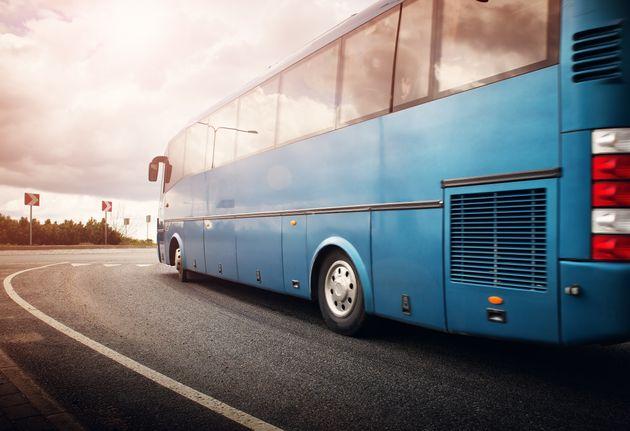観光バスのイメージ写真