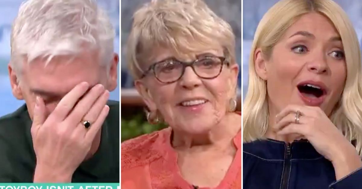 Holly Willoughby And Phillip Schofield Left Speechless After 80-Year-Old Guest Holds Nothing Back In Sex Discussion