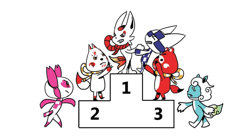 Tous les élèves japonais de l'école primaire ont voté pour la première fois de leur vie… pour l'élection des mascottes des JO 2020.