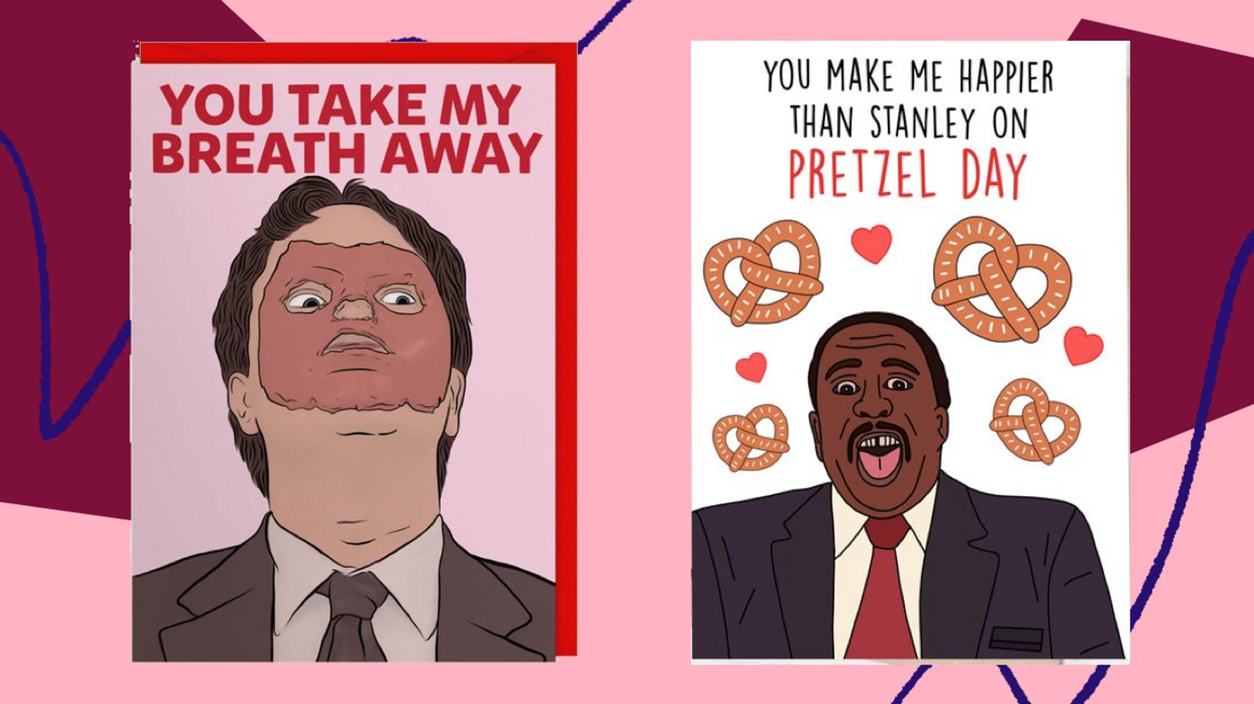 funny  u0026 39 the office u0026 39  valentine u0026 39 s day cards  for the jim to your pam