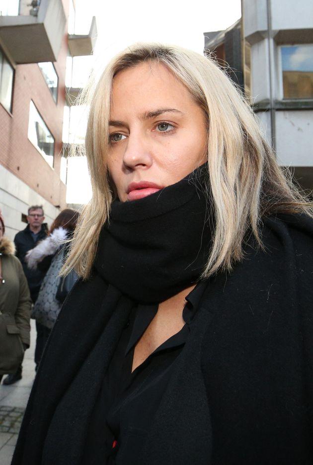 Caroline Flack appeared in court last
