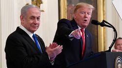 Le plan de Trump autorise Israël à annexer sans délai ses colonies en
