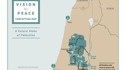 Voici à quoi ressemblent les États d'Israël et Palestine dans le plan de paix de