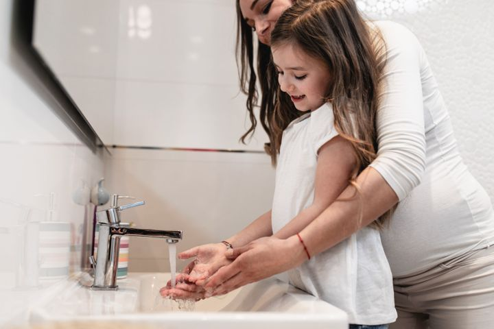 It's important to teach kids to always wash their hands properly — it's one of the biggest defences against viral illness.