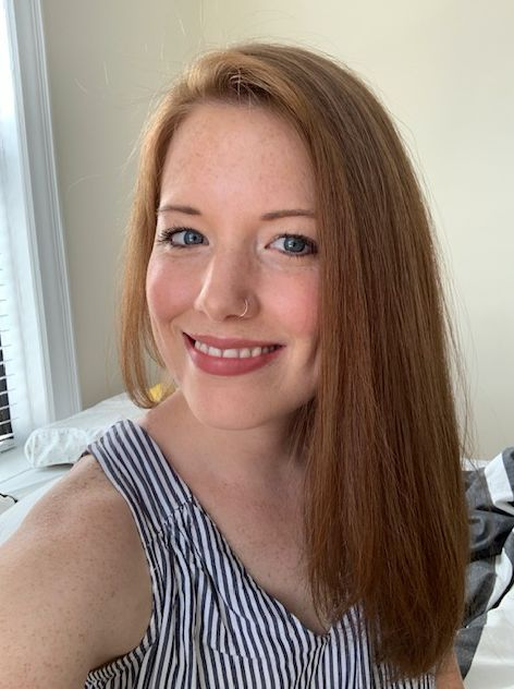 Erin Plum before beginning chemotherapy in summer 2019.