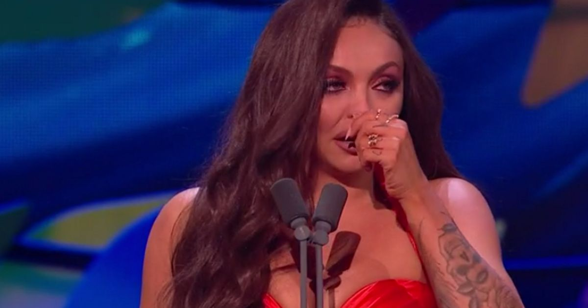 NTAs 2020: Jesy Nelson's Reaction To Winning Best Factual Could Not Have Been Sweeter